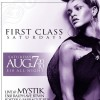 FIRST CLASS SATURDAYS EVERY FIRST SATURDAY OF THE MONTH @ MYSTIK